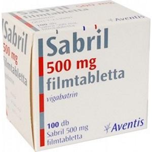 Sabril 500mg 100 Tablets